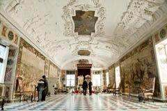 Rosenorg Castle Hall Stock Photo
