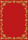 Rosenrahmen Stockbild