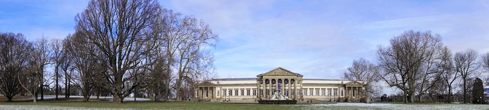 Rosenstein museum royaltyfri foto