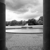 Rosensteinpark в городе Штутгарта Германии Стоковое фото RF