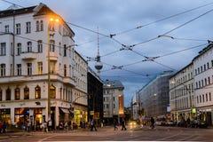 Rosenthaler Platz i Berlin Royaltyfria Bilder