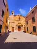 Roser Church in Ciutadella on Minorca Stock Photos