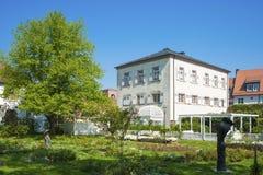 Roseraie dans Ettlingen photo stock