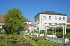 Roseraie dans Ettlingen photos stock