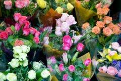 Roses à vendre Image libre de droits