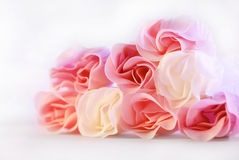 Roses. Some nice rose made by marzipan Stock Photography