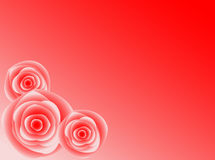 Roses. Red roses background with tone stock illustration