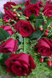 Roses. A bunch of red roses Royalty Free Stock Photo