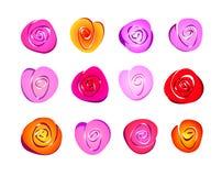 Roses abstraites Photographie stock libre de droits