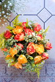 Roses arrangement Royalty Free Stock Photo