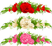 Roses on background Royalty Free Stock Photography