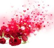Roses background. Royalty Free Stock Photo