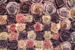 Roses background made from paper. Beautiful roses background made from paper Stock Photos