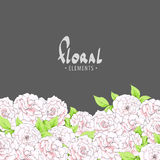 Roses background Royalty Free Stock Photo