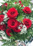 Roses bouquet. Roses bouquet Royalty Free Stock Image