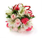 Roses for the bride Royalty Free Stock Photos