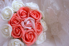 Roses for the bride Royalty Free Stock Image