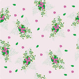 Roses bright pattern Royalty Free Stock Images