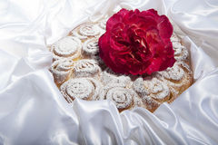 Roses cake for mother day Royalty Free Stock Photo