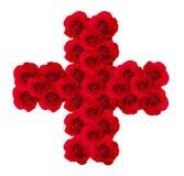 Roses cross Stock Photos