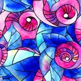 Roses d'aquarelle Photos libres de droits