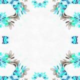 Roses d'invitation de fractale de batik Images libres de droits