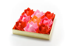 Roses d'Origami photos stock
