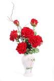 Roses dans vases photo libre de droits