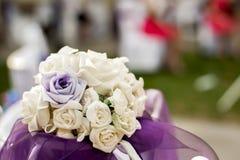 Roses de bouquet pour épouser Photo stock