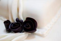 Roses de chocolat Image stock