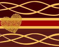 roses de coeur illustration de vecteur