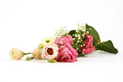 roses de fleur de bouquet photographie stock libre de droits