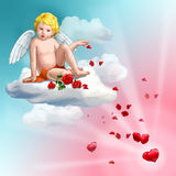 Roses de l'amour illustration stock