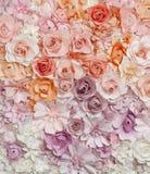 Roses de papier Photo stock