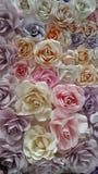 Roses de papier Images libres de droits