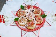 Roses de petit pain Photos stock