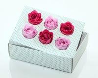 Roses de savon Photos stock