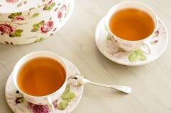 Roses de thé noir Photographie stock libre de droits