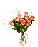 Roses de tissu Images stock