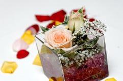 Roses decor Royalty Free Stock Photography