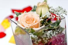 Roses decor Royalty Free Stock Photos