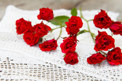 Roses decoration Stock Photography