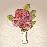 Roses design Stock Images