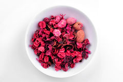 Roses dried leaves Royalty Free Stock Photo