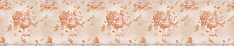 Roses et perles Photo stock