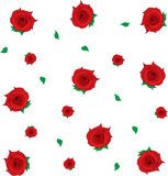 Roses Falling Royalty Free Stock Photography