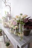 Roses floral arrangements Stock Image