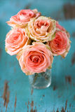 Roses Flower Bouquet royalty free stock photo