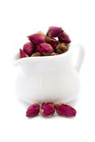 Roses flowers tea Royalty Free Stock Image