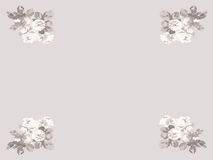 Roses. Four bouquets of roses in sepia color Royalty Free Stock Photo